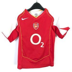 Vintage Nike Arsenal 2004/2005 Home Jersey O2